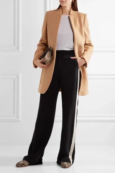 Stella McCartney  Bryce melton woolblend coat  NETAPORTERCOM
