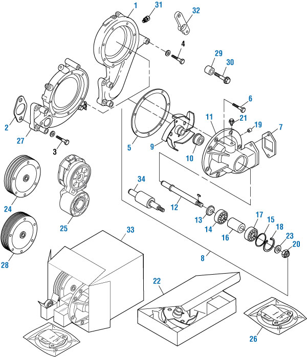 Belt Tensioner for Mack E7. PAI# EBT-8683 Ref# 87GB41A