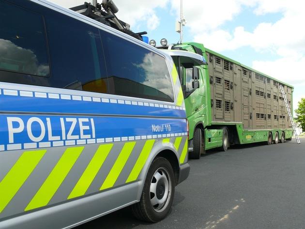 POL-OH: Schwerpunkt Tiertransportkontrollen