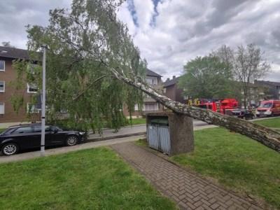 """FW-MH: Sturmtief """"Eugen"""" zieht über Mülheim"""