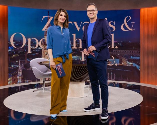 """""""Ich bin alles, was sie hassen"""" - die afghanische Popsängerin Aryana Sayeed ist heute live im Studio beim Auftakt von """"Zervakis & Opdenhövel. Live."""""""