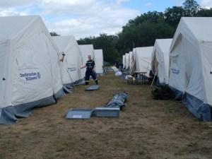 THW-HH MV SH: Technisches Hilfswerk unterstützt bei Waldbrand-Bekämpfung Nahe Lübtheen