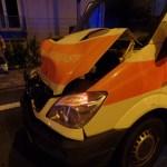 Unfall zwischen Feuerwehrfahrzeug und Rettungswagen