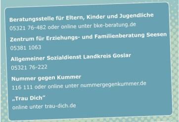 POL-GS: PI Goslar: Netzwerk Familie im Landkreis Goslar startet Aktion gegen sexuelle Übergriffe auf Kinder und Jugendliche.