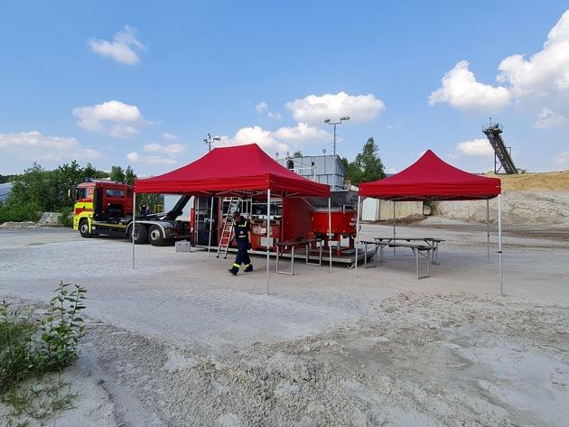 FW Ratingen: Feuerwehr Ratingen unterstützt erneut überörtlich