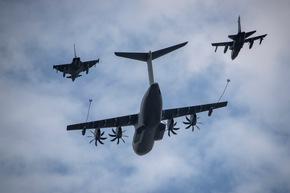 Fähigkeitsaufwuchs bei der Luftwaffe - Erstes A400M Tanker Kontingent verlegt in den Einsatz
