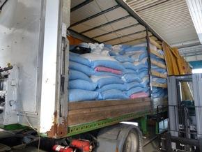 HZA-N: Trockenfrüchte der anderen Art - Nürnberger Zoll stoppt LKW mit 150 Kilogramm Marihuana