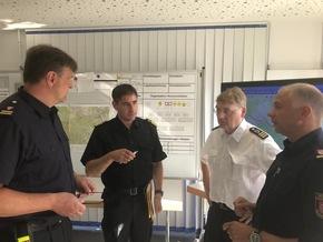 FW-LFVSH: Pressemitteilung im Auftrag des mobilen Führungsstabes Schleswig-Holstein Einheiten werden ausgetauscht