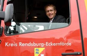 FW-RD: Hilfe für Flutopfer - Ministerpräsident Günther dankt Helfern