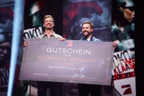 """Prime-Time-Sieger! """"Joko & Klaas gegen ProSieben"""" glänzt am Dienstagabend mit 14,3 Prozent Marktanteil"""