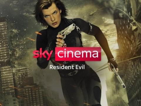 """Milla Jovovich als Action-Amazone: Die komplette """"Resident Evil""""-Realfilm-Reihe und die drei Animations-Hits ab Freitag auf Sky und Sky Ticket"""