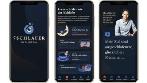 """Einfach besser schlafen – mit der neuen App """"7Schläfer"""""""