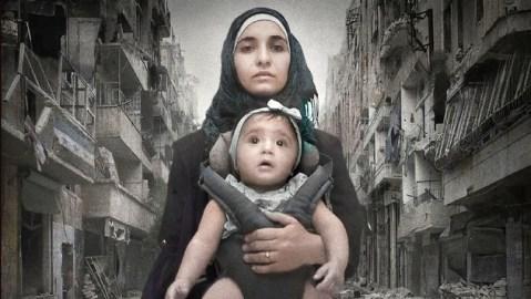"""Preisgekrönte Doku """"Für Sama"""" bei GEO Television / Preview im Media Hub / 10 Jahre Bürgerkrieg in Syrien"""
