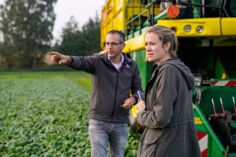 Nachhaltig orientierter Gemüse- und Kräuteranbau von iglo ist Gold wert / iglo erhält für regionale und nachhaltige Landwirtschaft das FSA-Gold-Siegel
