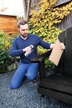 Kleine Lackschäden lassen sich umweltfreundlich wegsprühen