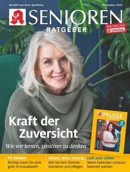 Zuversicht: Mit voller Kraft voraus durchs Leben / Gerade ältere Menschen schauen frohen Mutes auf die Jahre vor ihnen