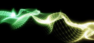 Trapcode Form - Green Flow Strings