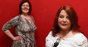 Eileen Gormley and Caroline McCall as they appeared in The Irish Examiner
