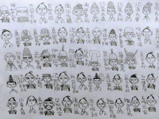 オランダで生まれ育った子どもの「戦国武将のイラスト」が可愛くてマニアックですごい
