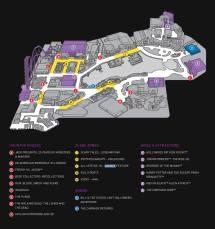 Halloween Horror Nights Universal Orlando Map