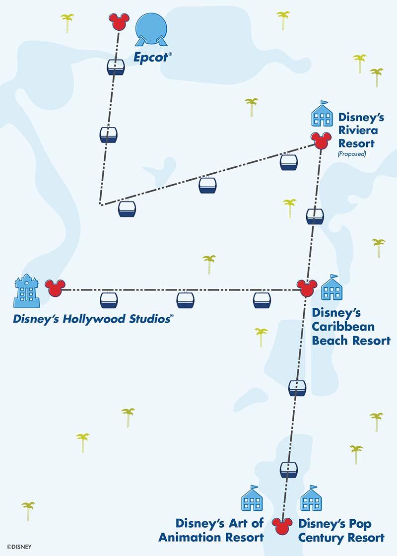 Pop Century Resort Map : century, resort, Everything, About, Disney, Skyliner, World
