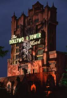 Twilight Zone Tower Of Terror Disney' Hollywood