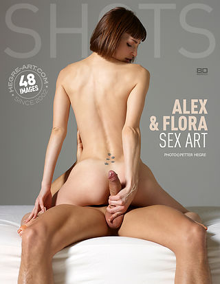 alex and flora hegre  art blowjob
