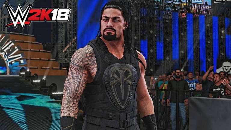 Roman Reigns And Naomis WWE 2K18 Entrances Revealed
