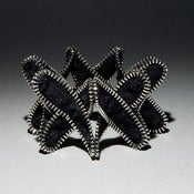 Image of Criss-Cross Zipper Bracelet