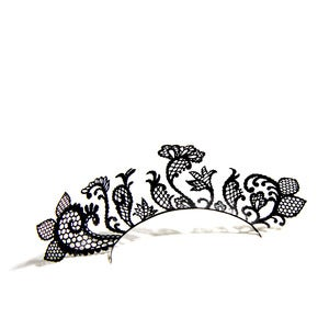 Lace garden design eyelashes