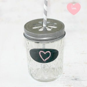 Image of Lemonade Mason Jars Lids