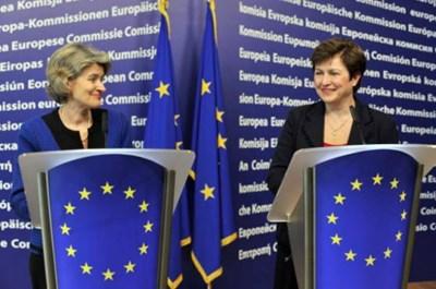 Ирина Бокова и Кристалина Георгиева - две българки, кандидатки за поста генерален секретар на ООН.