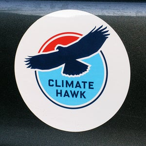 Image of Climate Hawk Sticker