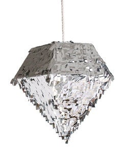 Image of Diamond Pinata-Silver