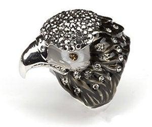 Image of Hawks Head Diamond Ring