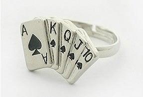 Image of Fun Adjustable Poker Rings