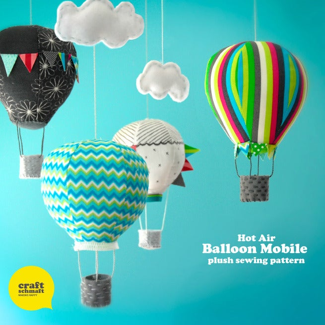 Air Balloon Mobile Pattern