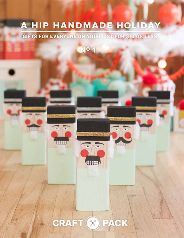 A Hip Handmade Holiday - a digital craft book with 18 projects, 9 instructional videos and over 100 downloads