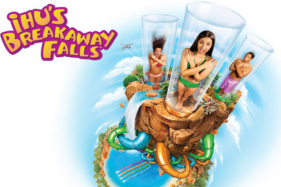 Ihus Breakaway Falls SeaWorld Orlando Discount Tickets