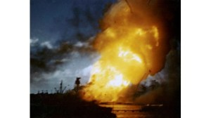Мощен взрив на кораб в Дубай