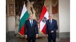 Радев в Австрия: Няма да позволим на Скопие да нарушава правата на хората с българска идентичност (Видео)