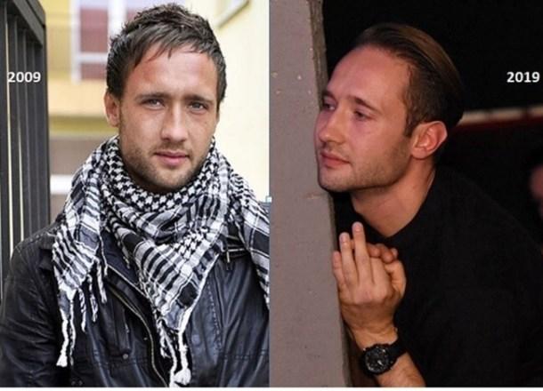 Дарин Ангелов е променил прическата за последните 10 години и е добил мъжественост.