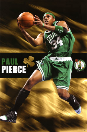 Celtics- Paul Pierce poster
