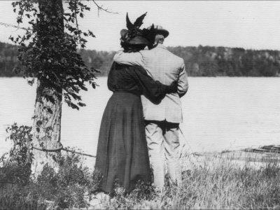 The Lover's Retreat Photographic Print