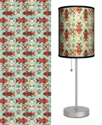 Deco Fish with Blue - Table Lamp Table Lamp - at ...