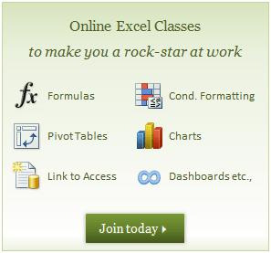 Excel School - Online Excel Training Program
