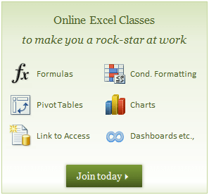 Excel School Dashboard Training Program