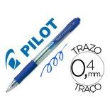 Boligrafo Pilot Super Grip azul 0,4 mm