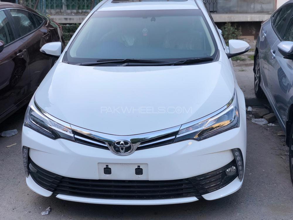 new corolla altis grande jual grand avanza toyota cvt i 1 8 2018 for sale in islamabad