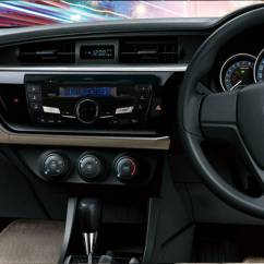 Brand New Toyota Altis Price Sarung Jok Grand Veloz Corolla Automatic 1 6 2019 In Pakistan Pakwheels Interior Dashboard